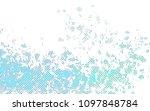 light blue  green vector... | Shutterstock .eps vector #1097848784