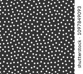memphis geometric seamless... | Shutterstock . vector #1097849093