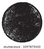 grunge circle.vector round... | Shutterstock .eps vector #1097875433