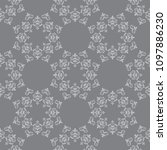 dark gray vector seamless...   Shutterstock .eps vector #1097886230