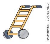 handcart icon image | Shutterstock .eps vector #1097887010