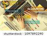 accounting and payable concept | Shutterstock . vector #1097892290
