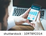 results and finance concept   Shutterstock . vector #1097892314