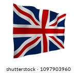 waving flag of the great... | Shutterstock . vector #1097903960