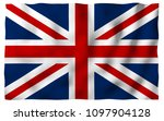 waving flag of the great... | Shutterstock . vector #1097904128
