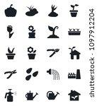 set of vector isolated black... | Shutterstock .eps vector #1097912204