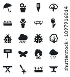 set of vector isolated black... | Shutterstock .eps vector #1097916014