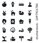 set of vector isolated black... | Shutterstock .eps vector #1097921780