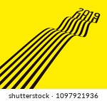 the black lines are converted... | Shutterstock .eps vector #1097921936