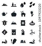 set of vector isolated black... | Shutterstock .eps vector #1097923220