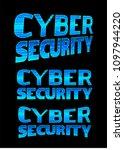 binary circuit board future... | Shutterstock .eps vector #1097944220
