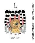 vector english alphabet series...   Shutterstock .eps vector #1097962289