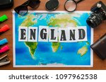 england word letters... | Shutterstock . vector #1097962538