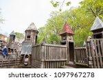 may 20  2018   toronto  canada  ... | Shutterstock . vector #1097967278