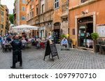 rome  italy   april 30  2018  ... | Shutterstock . vector #1097970710