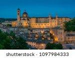 panorama in urbino at sunset ... | Shutterstock . vector #1097984333