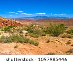 Overlook Of Nevada Desert On...