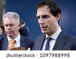 dutch finance minister wopke...   Shutterstock . vector #1097988998