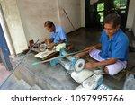 gemstone cutting shop in...   Shutterstock . vector #1097995766