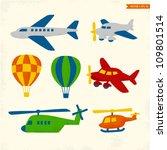 transportation   Shutterstock .eps vector #109801514