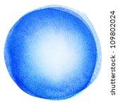 watercolor circle shape...   Shutterstock . vector #109802024