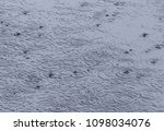 circles on water made by rain... | Shutterstock . vector #1098034076