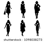 vector illustration of elegant... | Shutterstock .eps vector #1098038273