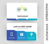 commodities  business card... | Shutterstock .eps vector #1098042944