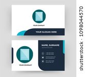 specification  business card... | Shutterstock .eps vector #1098044570