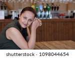 nice portrait of a middle aged...   Shutterstock . vector #1098044654