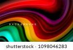 abstract wave lines fluid... | Shutterstock .eps vector #1098046283