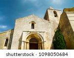 medieval village in france | Shutterstock . vector #1098050684