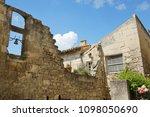 medieval village in france | Shutterstock . vector #1098050690