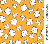 seamless pattern   mouse and... | Shutterstock .eps vector #1098070208