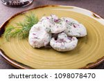 traditional russian salted... | Shutterstock . vector #1098078470