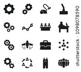 set of simple vector isolated...   Shutterstock .eps vector #1098078590