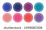 vector starburst set | Shutterstock .eps vector #1098082508