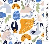 seamless pattern. abstract... | Shutterstock .eps vector #1098082679