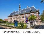 the 'koninklijk weeshuis' ... | Shutterstock . vector #1098102593