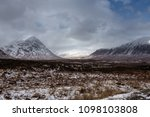 the buachaille  is a mountain...   Shutterstock . vector #1098103808