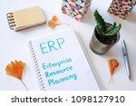 erp enterprise resource... | Shutterstock . vector #1098127910