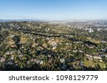 aerial view of hillside and... | Shutterstock . vector #1098129779