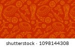 wallpaper background vector... | Shutterstock .eps vector #1098144308