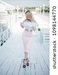 fashion lifestyle portrait of...   Shutterstock . vector #1098144770
