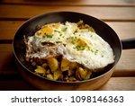 tyrolean specialty grostl ... | Shutterstock . vector #1098146363