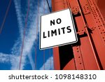 no limits motivational message... | Shutterstock . vector #1098148310