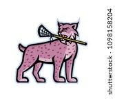sports mascot icon illustration ... | Shutterstock .eps vector #1098158204