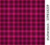 seamless bright pink plaid | Shutterstock . vector #109818209