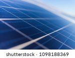solar energy  a clean way of... | Shutterstock . vector #1098188369