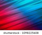 dark blue  red vector layout... | Shutterstock .eps vector #1098225608